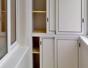 Изготовление корпусной мебели для балконов и лоджий.  - foto 1