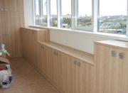 Изготовление корпусной мебели для балконов и лоджий.  - foto 3