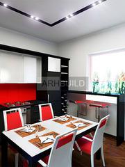Дизайн интерьера жилых и общественных помещений - foto 5