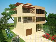 Разработка дизайна фасадов здания - foto 0