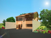 Разработка дизайна фасадов здания - foto 4