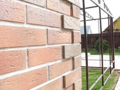 Отделка и облицовка фасада клинкерной плиткой - main