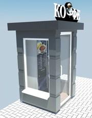 Киоски - автоматы для продажа кофе. - foto 1