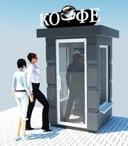Киоски - автоматы для продажа кофе. - foto 2
