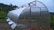 Теплица с раздвижной крышей. - foto 0