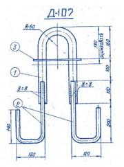 Закладные изделия для железобетонных конструкций от ЮгПромМетиз