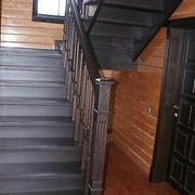 Лестницы из твердых пород дерева - foto 0