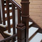 Лестницы из твердых пород дерева - foto 3